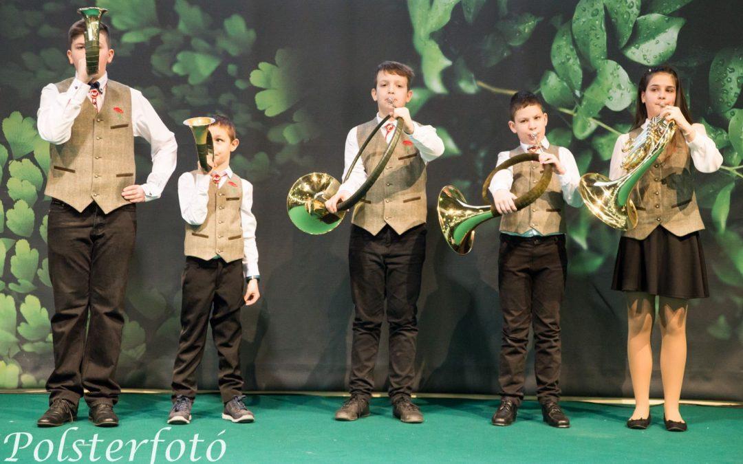 Ifjúsági vadászkürtös szóló verseny