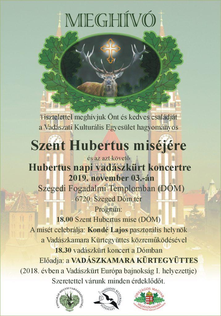 Hubertus napi vadászkürt koncert